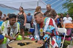 Aboriginal day live celebration In Winnipeg Stock Images