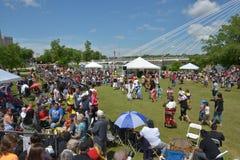 Aboriginal day live celebration In Winnipeg Royalty Free Stock Photos