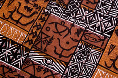 aboriginal design Royaltyfri Bild
