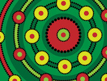 Aboriginal Design Stock Image