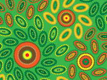 Aboriginal Design Stock Photography