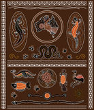 Aboriginal Design Elements Stock Images