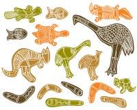 aboriginal djur Arkivfoton