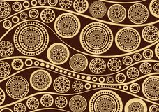 Aboriginal dot art background - Vector Illustration. Aboriginal dot art background. Illustration based on aboriginal style of dot painting Vector Illustration