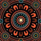 Aboriginal dot art vector painting. Aboriginal dot art vector background. dot concept vector illustration