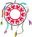 Aboriginal dream catcher. Dream catcher of the aboriginal peoples Royalty Free Stock Photos