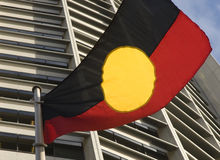 Aboriginal flag Royalty Free Stock Image