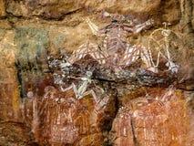 aboriginal konst Royaltyfria Foton