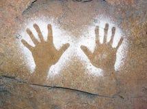 aboriginal konst Arkivbilder
