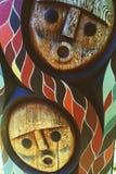 aboriginal konst Arkivfoto