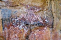 aboriginal konstrock Arkivbilder