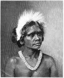 aboriginal kvinna arkivfoton