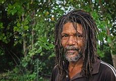 An aboriginal local man Royalty Free Stock Image