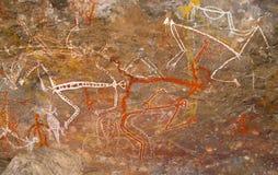 Aboriginal painting Stock Photography