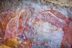 Aboriginal Rock Art royalty free stock photo