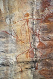 Aboriginal Rock Art Stock Photo