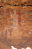 Aboriginal Rock Art. 13.000 years old rock art made by aboriginals in Australia Royalty Free Stock Images