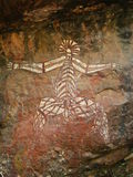 Aboriginal Rock Art - Kakadu Stock Image