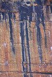 Aboriginal rock art at Kakadu National Park, Northern Territory, Australia. Beautiful Aboriginal rock art at Kakadu National Park, Northern Territory, Australia Stock Photography