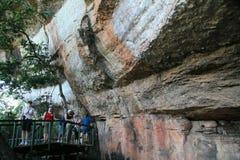 Aboriginal Rock Art - Kakadu Park, Australia Royalty Free Stock Images