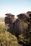 Aboriginal rocks Stock Image