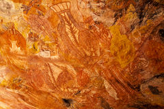 aboriginal rocks Royaltyfri Bild