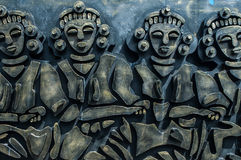 Aboriginal sculpture Royalty Free Stock Photo
