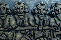aboriginal skulptur Royaltyfri Foto