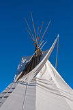 Aboriginal teepee Stock Photography