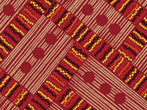 Aboriginal Textile royalty free illustration