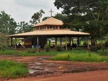 Aboriginal Tiwi Church,  Australia Stock Photos