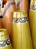 aboriginal vase Fotografering för Bildbyråer