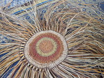 Aboriginal Weaving royalty free stock image