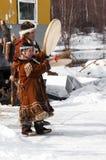Aboriginals des NordRusssia Lizenzfreies Stockfoto