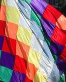 Aborigine flag Royalty Free Stock Photo