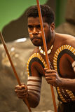 Aborigines actor at a performance Stock Photography