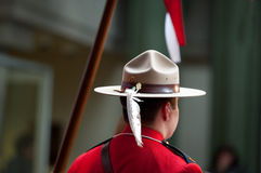 Aboroginal Dress Uniform RCMP Royalty Free Stock Images