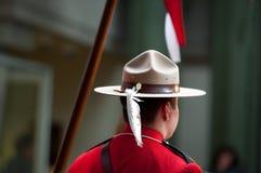 Aboroginal Smokingowy mundur RCMP Obrazy Royalty Free