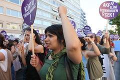 abortuppgift mot anti lag Royaltyfri Fotografi