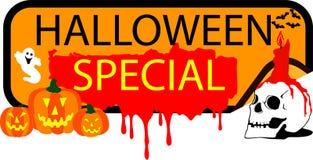 Abotoe Halloween especial Fotografia de Stock