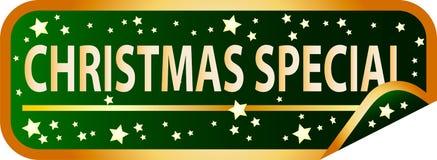 Abotone la Navidad especial Fotografía de archivo