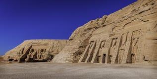 Abou Simbel Temples Arkivfoton