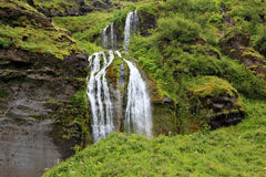 Abounding waterfall Royalty Free Stock Images