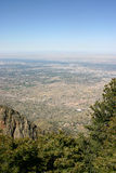 Above Albuquerque Royalty Free Stock Image