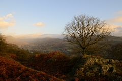 Above Ambleside, England. Royalty Free Stock Image