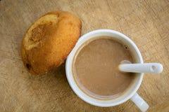 Above, aroma, background, baked, beverage, black, breakfast, bro Stock Photos
