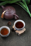 Above of Chinese Tea Cup Royalty Free Stock Image