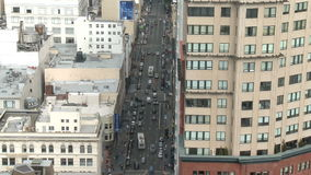 Above City Traffic Time Lapse. Above City Traffic,  San Francisco stock video footage