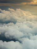 Above cloud and dramatic light Royalty Free Stock Photos