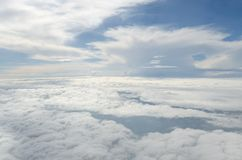 Above the cloud Stock Photo
